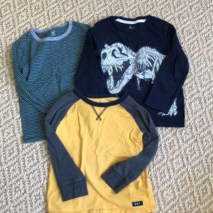 4T Boy Longsleeve Shirt Lot